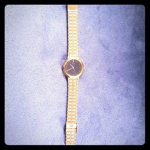 Men's Gold Seiko Watch